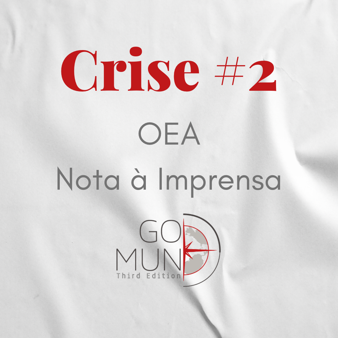 [Crise #2] Nota da OEA à Imprensa