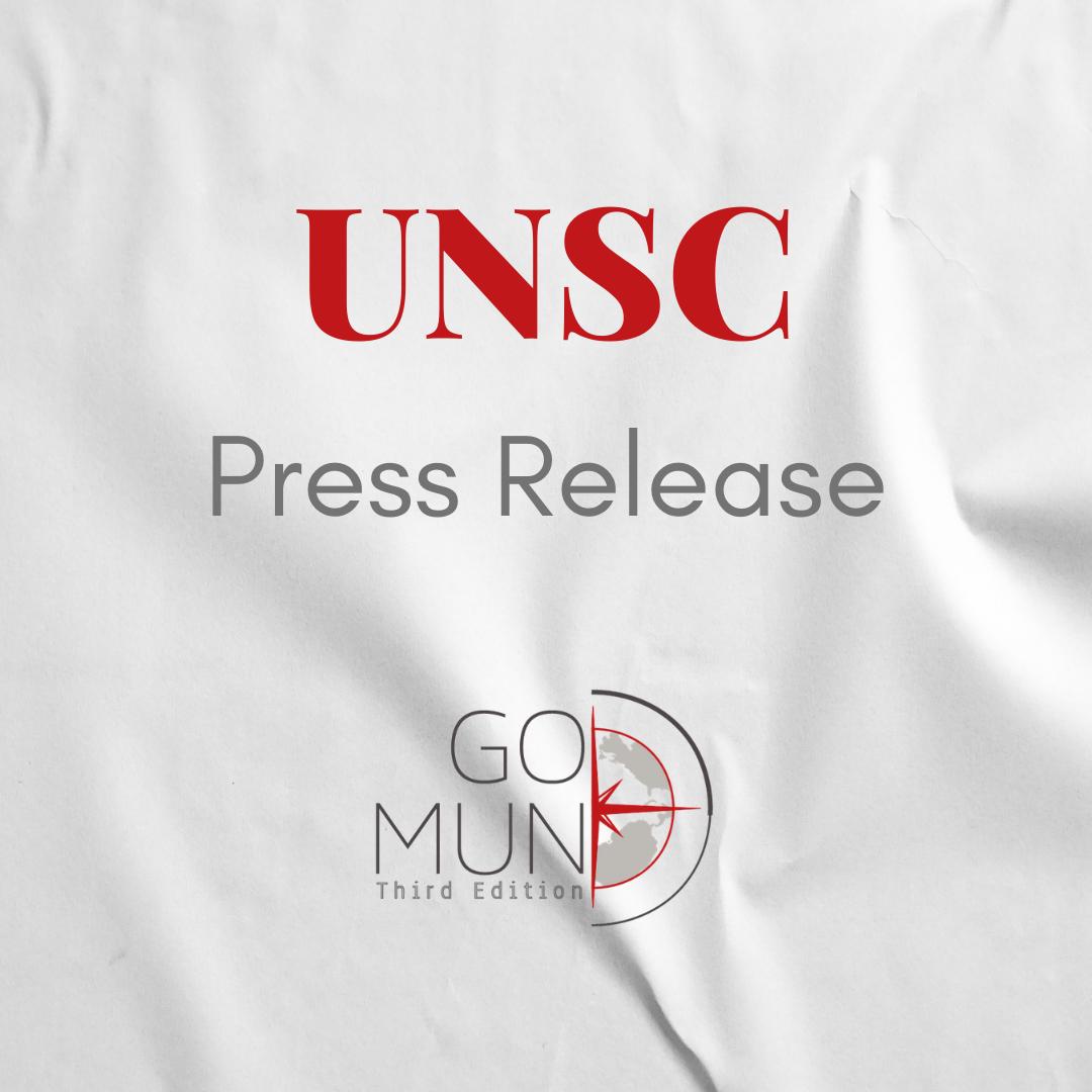 [UNSC] Press Release