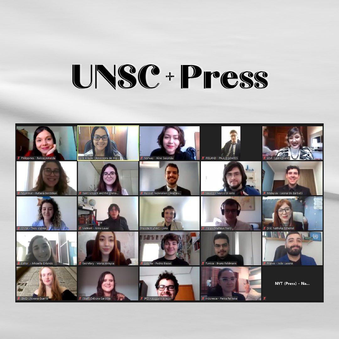 UNSC + Press 1